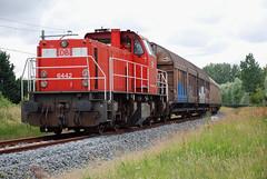 6442 Alphen aan den Rijn (lex_081) Tags: ns db 6442 6400 alphen aan den rijn electrolux 62071 62072 62070 cargo