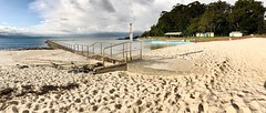 Forster Ocean Baths and Forster Main Beach, NSW (Black Diamond Images) Tags: forsteroceanbaths forstermainbeach panorama forster nsw appleiphone7plus iphone7plus appleiphone7pluspanorama iphone7pluspanorama iphonepanorama beach oceanbaths bullring greatlakesnsw australianbeaches beachlandscapes swimmingpool landscape sky