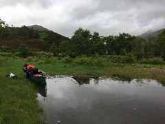 Preparing to cross the loch (What I saw...) Tags: loch arkaig highlands scotland canoe camping wildcamping hou open