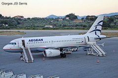 "Aegean Airlines A319 • <a style=""font-size:0.8em;"" href=""http://www.flickr.com/photos/146444282@N02/35262146105/"" target=""_blank"">View on Flickr</a>"