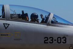 DSC_7894 (COSAS DE VOLAR) Tags: base aérea de talaveraasociación aire visita ala 23alaejercito del airefuerza aerea españolabase 23ala 23