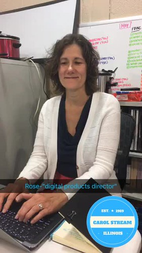 Video - Rose, digital products director