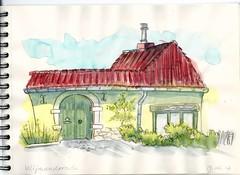 Wijnandsrade (Crokenflo) Tags: watercolour wijnandsrade wasserfarben aquarelle sketch sketchbook tekenen croquis carnetdecroquis nederland netherlands limburg zuidlimburg