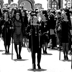 Procesión de Semana Santa, Ronda (pom.angers) Tags: panasonicdmctz30 april 2017 andalusia andalucìa spain españa europeanunion 100 ronda malaga woman women people 150