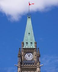 Centre Block (Travis Estell) Tags: canada canadianflag centreblock édificeducentre flag gothicrevival libraryofparliament nationalcapitalregion nationalflag ontario ottawa parliamenthill régiondelacapitalenationale