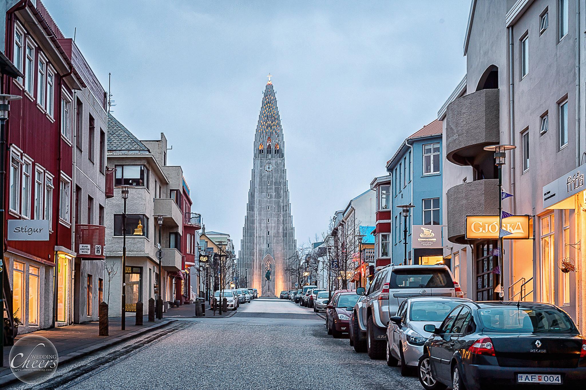 雷克雅維克 Reykjavik 冰島婚紗 海外婚紗 乾杯婚禮 cheerswedding
