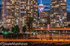 DSC_0321-Edit (steelematthews) Tags: seawall harbourcentre longexposure buildings nightshots