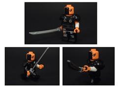 Deathstroke Rebirth Ver (MrKjito) Tags: lego minifig dc comics comic rebirth slade wilson deathstroke custom ikon suit