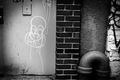 UnTitled (Street Witness) Tags: streetscape graffiti scrawl art les nyc madison street