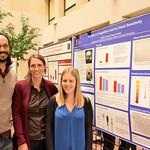 Professor Alejandro Lleras, Research Assistant Professor Simona Buetti, Sophie Leib