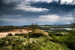 Rain moving in . . . (Explore) (Dr. Farnsworth) Tags: sleepingbear scenic lakeshore drive dunes clouds smooth sand glenlake dhday historic farm house barns leelanaupassage piercestocking mi michigan spring may2017