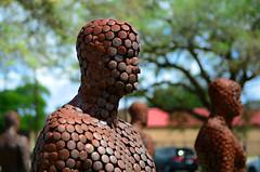4 of 11 (davidwilliamreed) Tags: dof art sculptures sculptureforneworleans rust patina textures neworleansla artistjasonkimes weathered oxidized oxidation