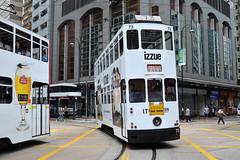 xxx 43 Hong Kong Tramways 73 (izzue) (Howard_Pulling) Tags: hongkongtramtramsstrassenbahnmtrmtr light railhkhoward pulling
