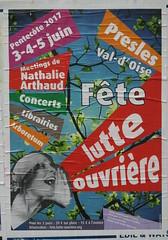 Fête de Lutte ouvrière (emmanuelsaussieraffiches) Tags: affiche politique political poster lutteouvrière