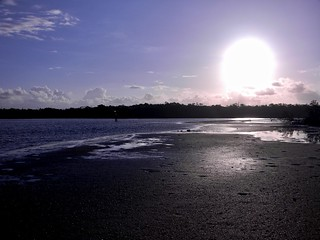 Sunrise Over Mudflats