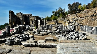 LABRAUNDA Ancient City .  Caria/ Turkey.  Temple Of Zeus