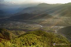 sarangkot- sunrise-32 p logo (anindya0909) Tags: nepal sarangkot sunise sunrise