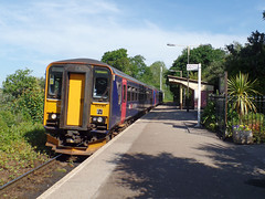 153377 & 153361 Penmere (Marky7890) Tags: gwr 153377 153361 class153 supersprinter 2f71 penmere railway cornwall maritimeline train