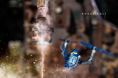 Rogue Bolt (minifigphoto) Tags: lego legophotography legoart miniatureart miniaturephoto minifigs cute kawaii legomoc legoland afol minifigure legoaddict legoaddiction legolove legofun upclose macro toyphotography lovephotography geek toyphotographers nexolego nexoknights space sparks electricity rust bolt dust debris retouch adobe