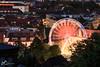 Riewsenrad in Bielefeld.jpg (Darklight-Photo) Tags: riesenrad bielefeld blauestude outdoor leinewebermarkt johannisberg langzeitbelchtung bielefeldcity