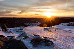 Sonnenaufgang am Herzogenhorn im Winter (Lukas Ohnesorge) Tags: landschaft landscape herzogenhorn schwarzwald sonnenaufgang sunrise