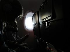 Passengers (RubyGoes) Tags: sydney nsw australia girl woman seats a380