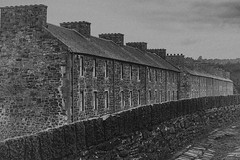 New Lanark mono (Explored June 2017) (another_scotsman) Tags: newlanark architecture scotland mono blackandwhite tenements