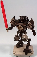 Darth Vader's Force Suit (M<0><0>DSWIM) Tags: lego starwars darthvader hardsuit mech