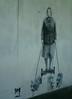 Dulwich Street Art (koothenholly) Tags: london londonstreetart dulwich corgis lordshiplane catman