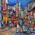 1143 - Jazz party New Orleans - 80x80