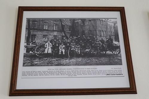 Sztab I-go Pułku Artylerii Polskiej