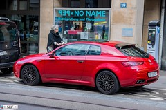 Alfa romeo Brera Basel Switzerland  2017 (seifracing) Tags: alfa romeo brera basel switzerland 2017 seifracing spotting services europe recovery rescue transport traffic cars car vehicles voiture police road