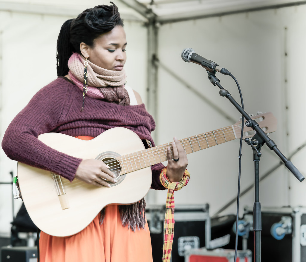 Ines Khai Performing At Africa Day In Dublin [ The Artist Is From Anse Bertrand, Guadeloupe]-128580
