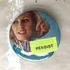 P E R S I S T (Depression Press) Tags: depressionpress button pin persist persisted women girl female collage letraset neon helvetica neverthelessshepersisted collagebuttons pins