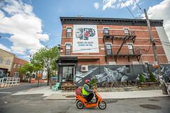 Pandora Radio (Always Hand Paint) Tags: 2017 brooklyn bushwick halsey music newyork ooh onlineservice pandora pandoracomplete pandoraradio pandoraradiocomplete spring advertising alwayshandpaint b175 colossal colossalmedia handpaint mural muraladvertising outdoor scooter skyhighmurals