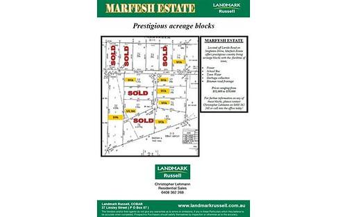 * Marfesh Estate (Singleton Drive), Cobar NSW 2835