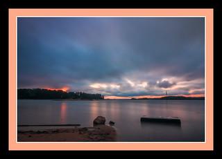 Lake Lanier, GA Sunrise using ND filters (6567)