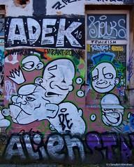IMGP2656 (Claudio e Lucia Images around the world) Tags: graffiti metelkova mesto ljubljana lubiana sigma murales tag art streetart colors walls wall