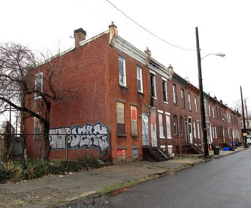 Vacant Building, Philadelphia, Pennsylvania