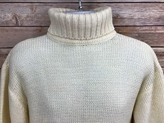 soft plain turtleneck sweater (Mytwist) Tags: maxini collezione mens turtleneck sweater cream off white blend t0ken0ftimeapparel wool style fashion fetish love passion craft turtlemeck rollneck rollkragen retro design donegal bulky handgestrickt handknitted heavy