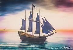Calas-5 (Poppys_Second_Life) Tags: popi popikonesadventuresin2l popisadventuresin2l 2l secondlife virtualphotography poppy picsbyⓟⓞⓟⓟⓨ sl calas ship boat