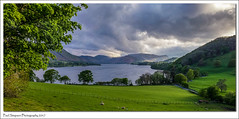 Ullswater in the Lake District (Paul Simpson Photography) Tags: lakedistrict cumbria ullswater paulsimpsonphotography views lakeland england nature imagesof imageof photoof photosof lgg3 mountains dunmallardhill pooleybridge mobilephonephotography trees landscapes landscapeviews farmland may2017