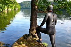 Bleseventy Fusion (170) (Merman latex) Tags: wetsuit neoprene wet tight tightclothes rubber skin wetsuits blueseven