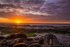 Early morning start at Seaton Sluice Beach (sidrog28) Tags: seaton clouds ocean sea sky newcastle uk nikon photography photo rocks sun sunny