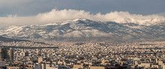 Parnitha snow_ (Nick Dimitratos) Tags: greece athens parnitha snow mountain view landscape clouds