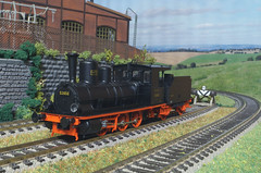 DRG BR 53 850 - Brawa (Stig Baumeyer) Tags: drg deutschereichsbahn steamlocomotive ånglok damplokomotiv damplok dampflokomotive modelleisenbahn scalah0 scala187 modelljernbane modelljärnväg diorama modelrailway ferromodellismo 187 h0 h0scale h0skala echelleh0 echelle187 h0layout brawah0 brawa brawa187 drgbr53 baureihe53 wüfc württembergischefc br538 baureihe538 drgbr538 esslingen maschinenfabrikesslingen