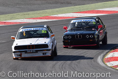 PBMW - R2 (19) David Graves vs Rob Cooper (Collierhousehold_Motorsport) Tags: toyotires pbmw bmw productionbmw bmw320 bmw320i bmwe30 bmw318 msvr msv garyfeakinsracing gravesmotorsport