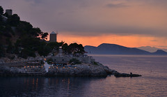 Sunset on Hydra, Greece (Alona Azaria) Tags: hydra greece aegean sardonic island idra 2470mmf28 nikon nikkor d800 idhra