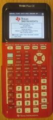 TI-84.Plus.CE.red (rickpaulos) Tags: ti graphing calculator
