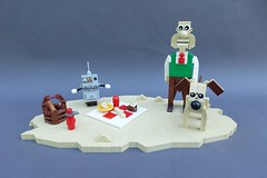 Wallace & Gromit: A Grand Day Out - ABS Builder Challenge Part 4 (-Balbo-) Tags: lego wallace gromit the cooker moc creation bauwerk balbo abs builder challenge